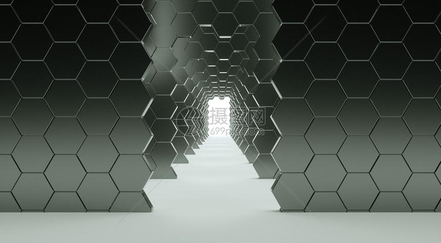 延展空间通道图片
