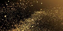 炫酷黑金粒子图片