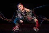 炫酷街舞女孩图片