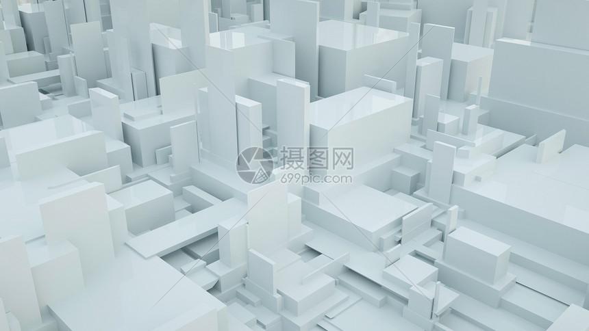 抽象建筑场景图片