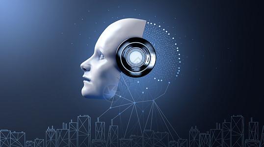 人工智能AI场景图片