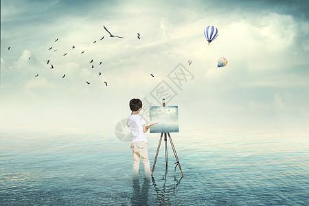 超现实主义的画家图片