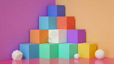 色彩展示空间图片