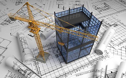 工业场地施工图图片