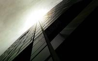 炫酷仰角建筑图片