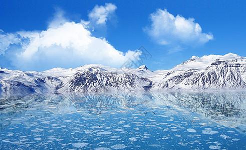 冬季融雪图片