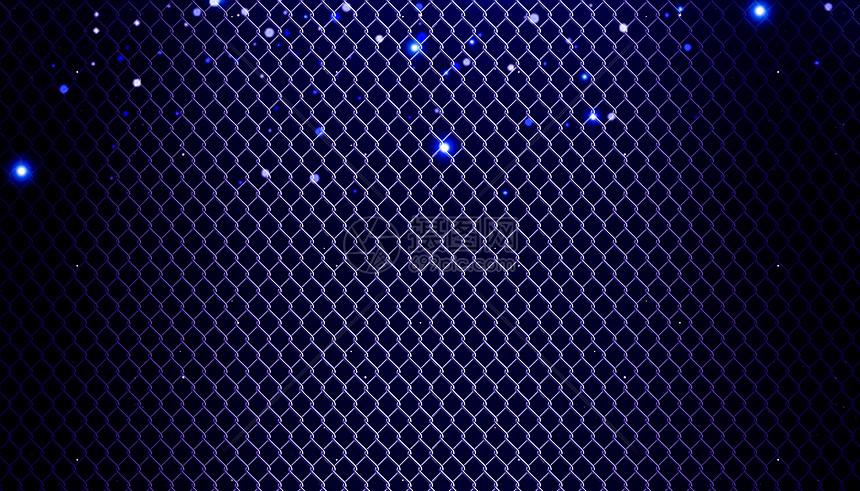 抽象铁网背景图片