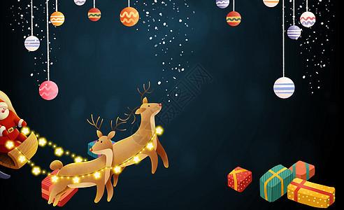 梦幻圣诞场景图片