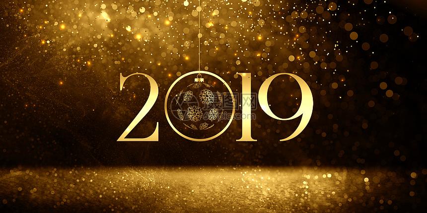 2019黑金光效粒子图片