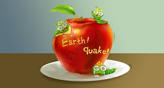 小地震图片