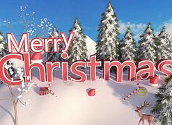 圣诞节-展板展架