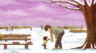 冬季雪地户外图片