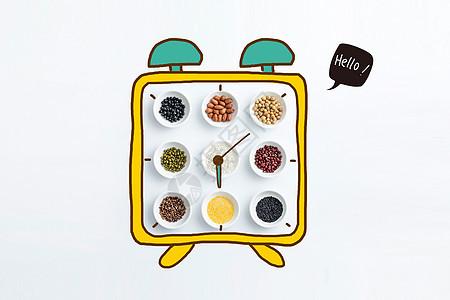 营养闹钟图片