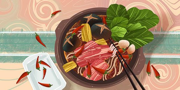 砂锅米线图片