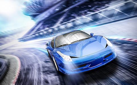 汽车赛道场地赛车图片