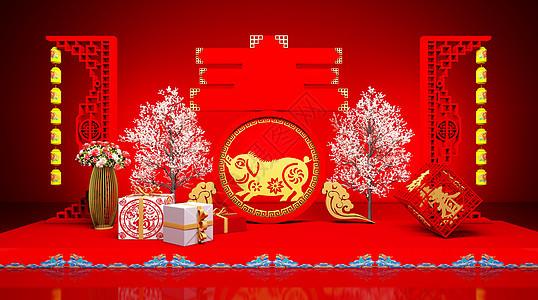 喜庆春节图片