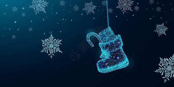 圣诞鞋子图片