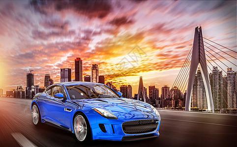 城市里的汽车图片