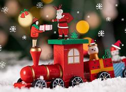 圣诞创意摄影-插画