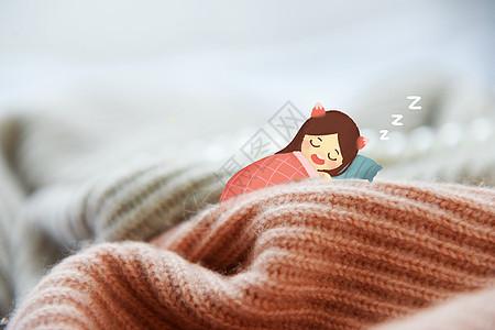 熟睡精灵图片