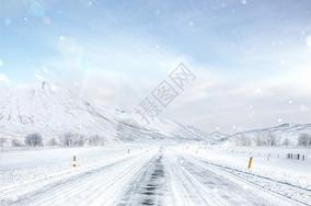 冬天雪景图片