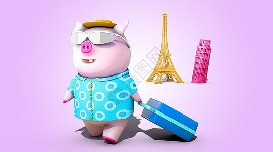 猪年旅游图片