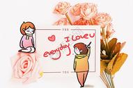 情人节创意摄影插画图片