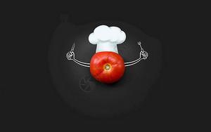 创意番茄图片