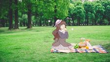 草地野餐图片