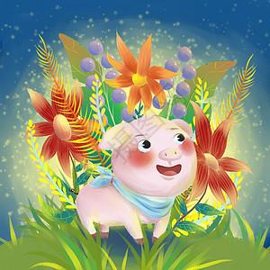 十二生肖亥猪图片