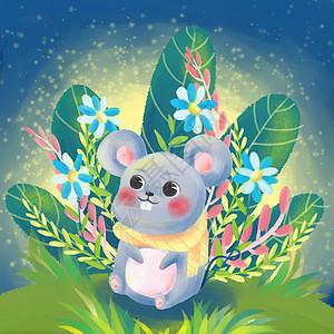 十二生肖子鼠图片