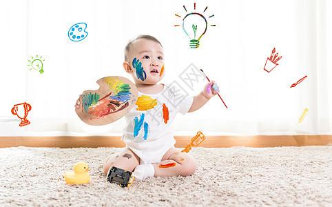 早教培训儿童绘画图片