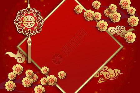 春节喜庆背景图片