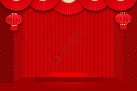 2019红色新年图片