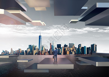 城市商务发展图片