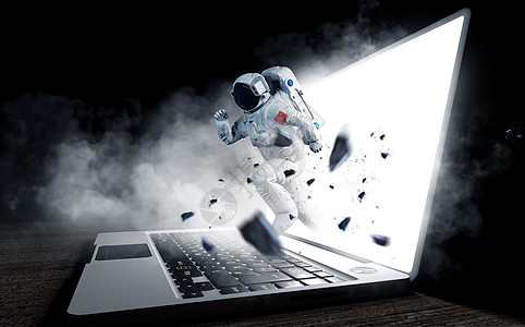 抽象宇航员图片