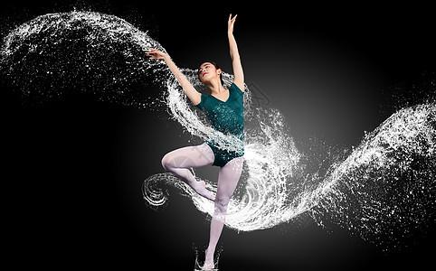舞蹈演员特技表演图片
