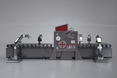 现代化工厂流程图片