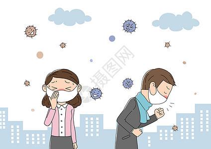 流感冬季图片