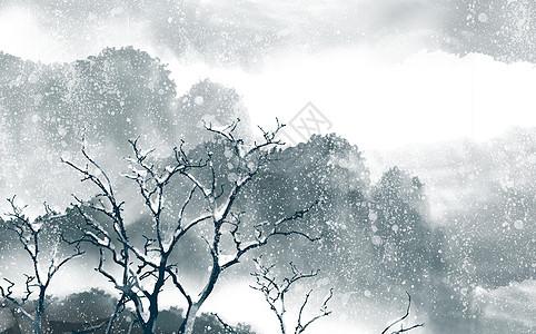 雪景中国风图片