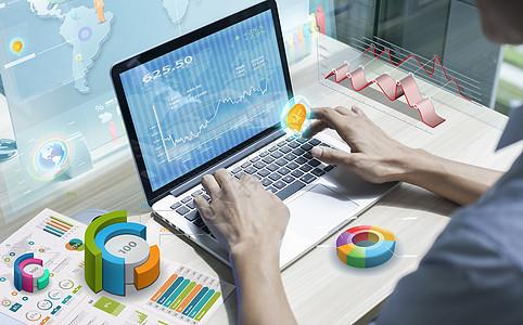 金融交易商业贸易图片