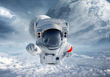 宇航员超人图片