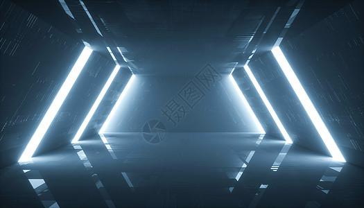 科幻空间通道图片