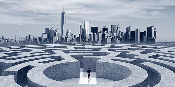 商务迷宫图片