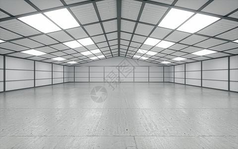 仓库空间场景图片