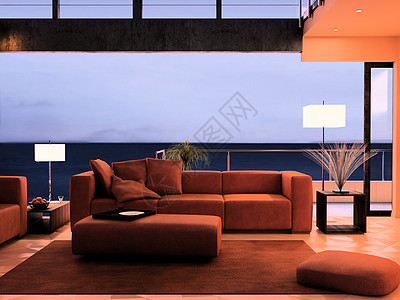 创意海景房图片