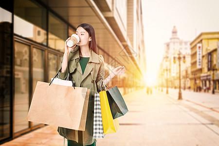 逛街购物图片