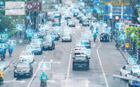 智能交通智慧城市图片