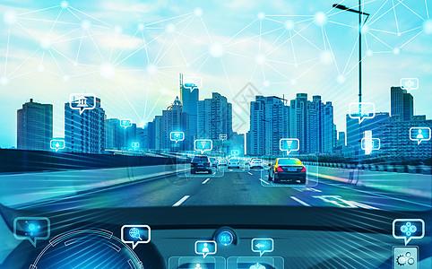 自动驾驶汽车图片