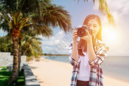 旅游美女图片